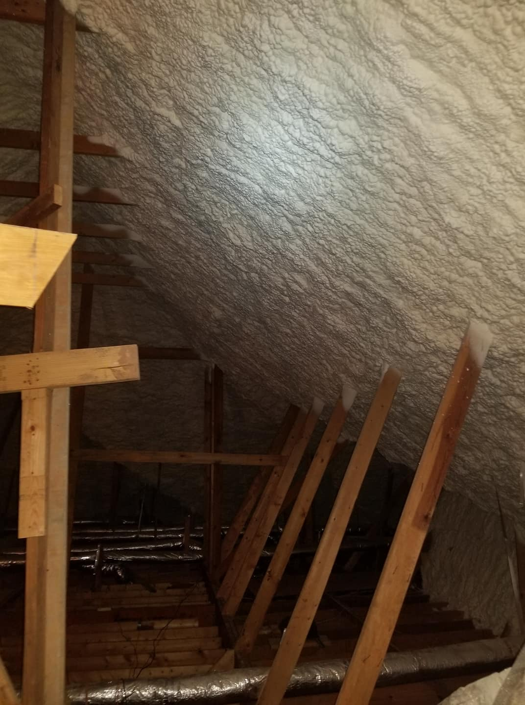 Attic Spray Foam Insulation Houston TX