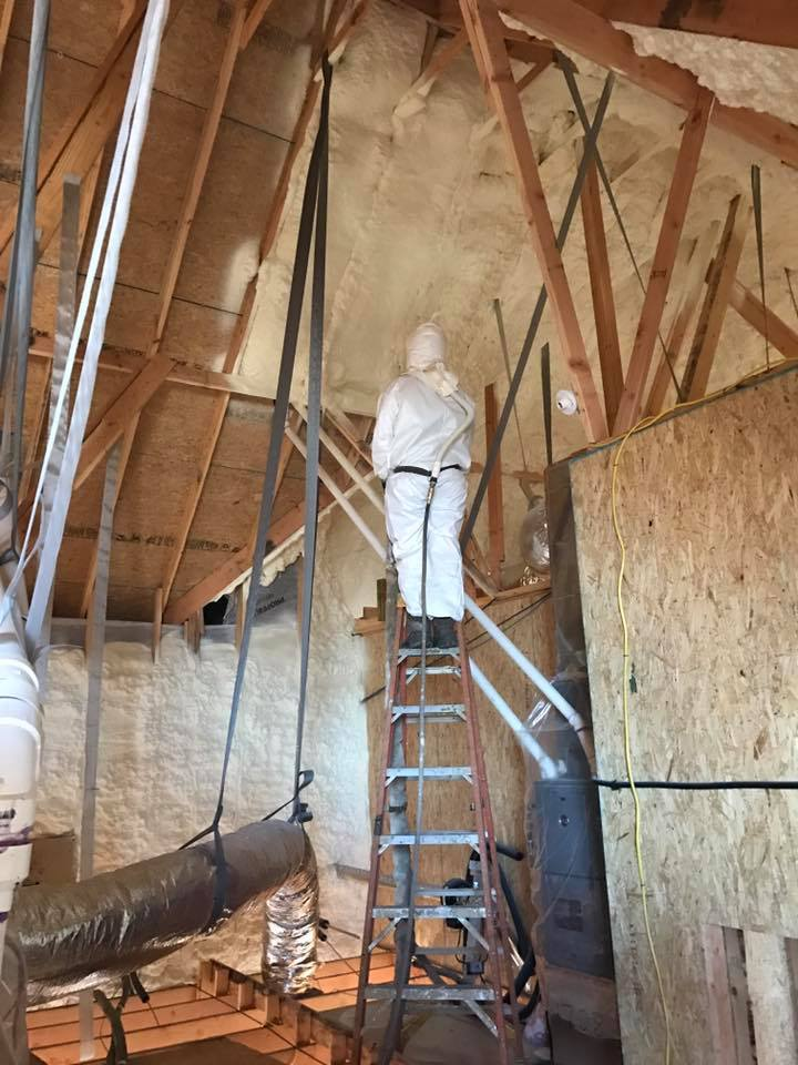 Spray Foam Insulation Houstin 01