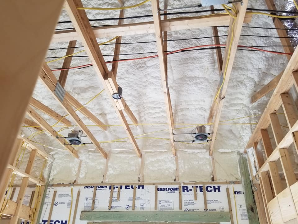 Sprayed Attic Insulation Houston