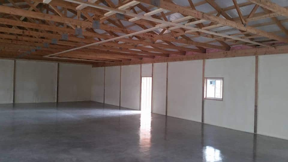 Pole Barn Spray Foam Insulation Houston